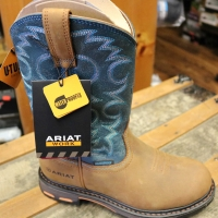 Mens Ariat Work Boots: